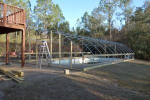 The Greenhouse is still under construction